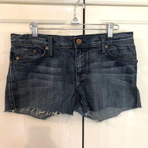 Rock & Republic Women's Blue Denim Shorts Size 29